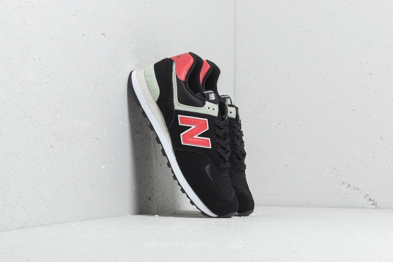 New Balance 574 Black/ Red za skvělou cenu 1 690 Kč koupíte na Footshop.cz