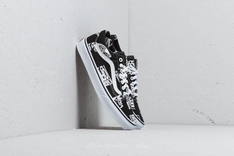 shoes Vans Old Skool (Logo Mix) Black