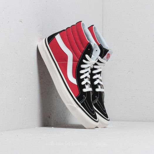 Vans Sk8 Hi 38 DX (Anaheim Factory)OG Black Red