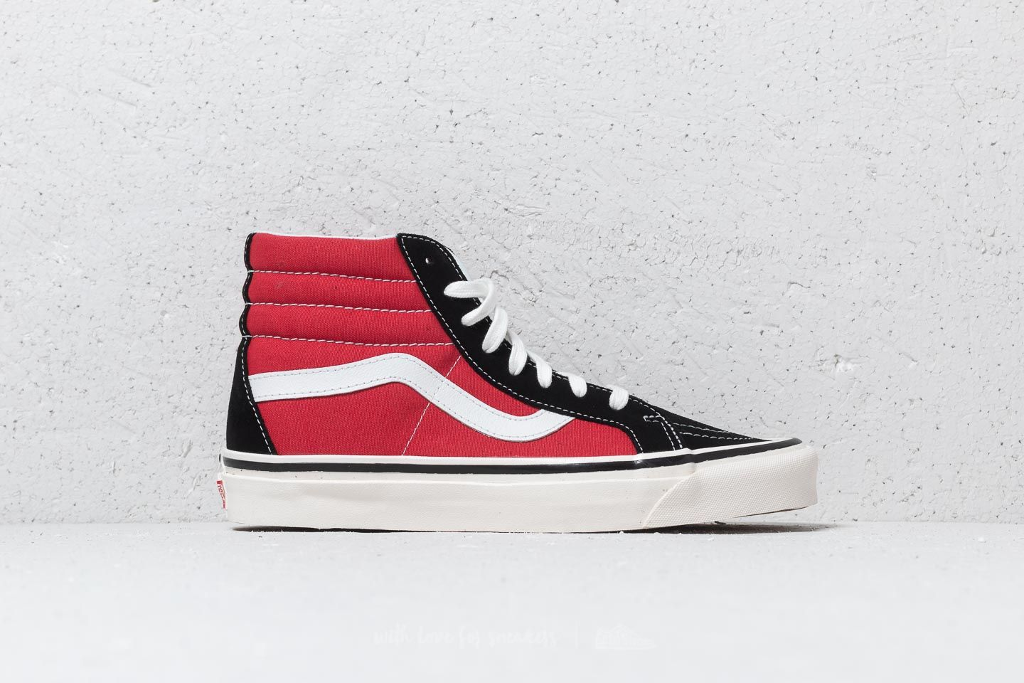 8d42f37812 Vans Sk8-Hi 38 DX (Anaheim Factory) OG Black/ Red | Footshop