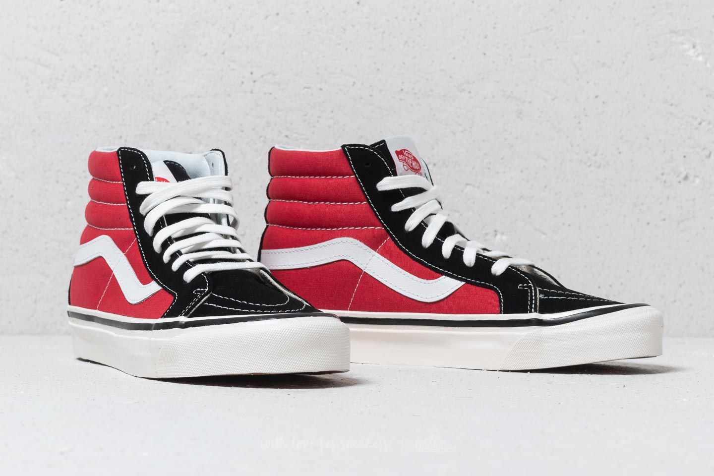 Vans Sk8-Hi 38 DX (Anaheim Factory) OG Black/ Red | Footshop