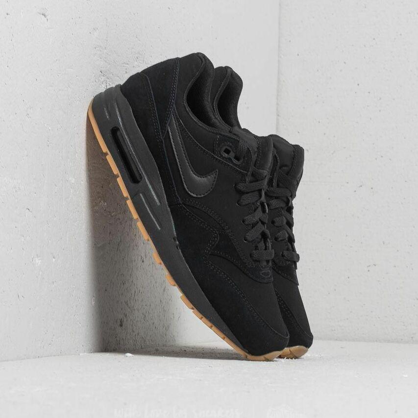 Nike Air Max 1 (GS) Black/ Black-Black EUR 40