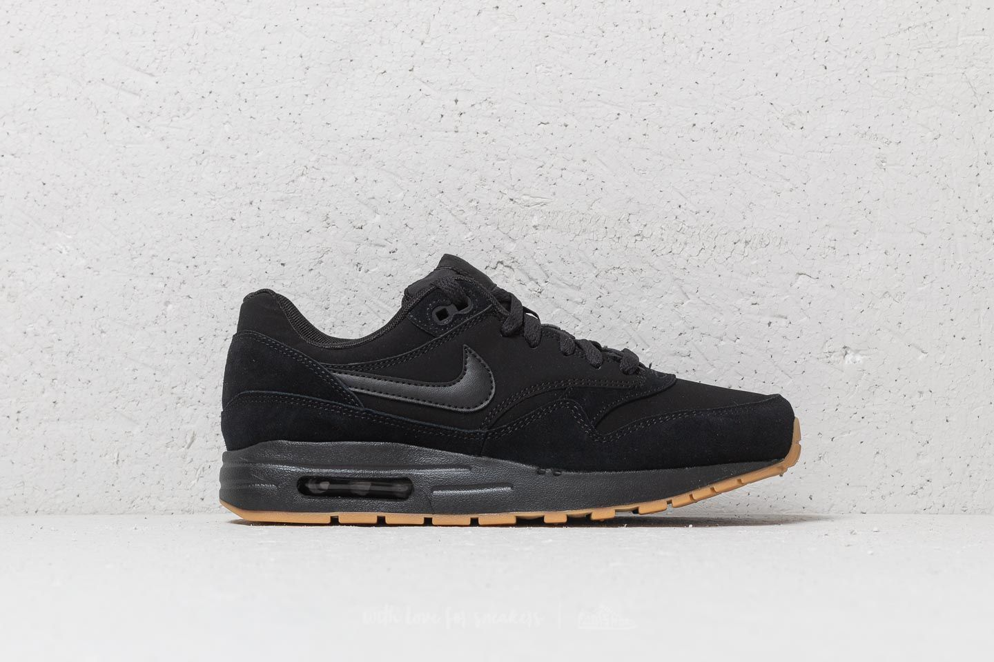 Nike Air Max 1 (GS) Black  Black-Black at a great price d0c84b889