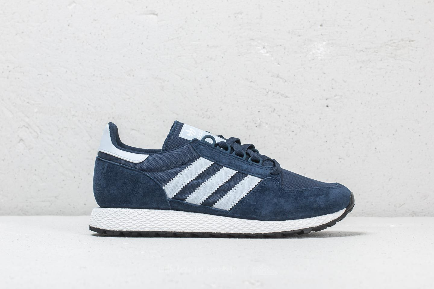 differently b607f 66416 adidas Forest Grove Collegiate Navy Aero Blue Core Black at a great price  56