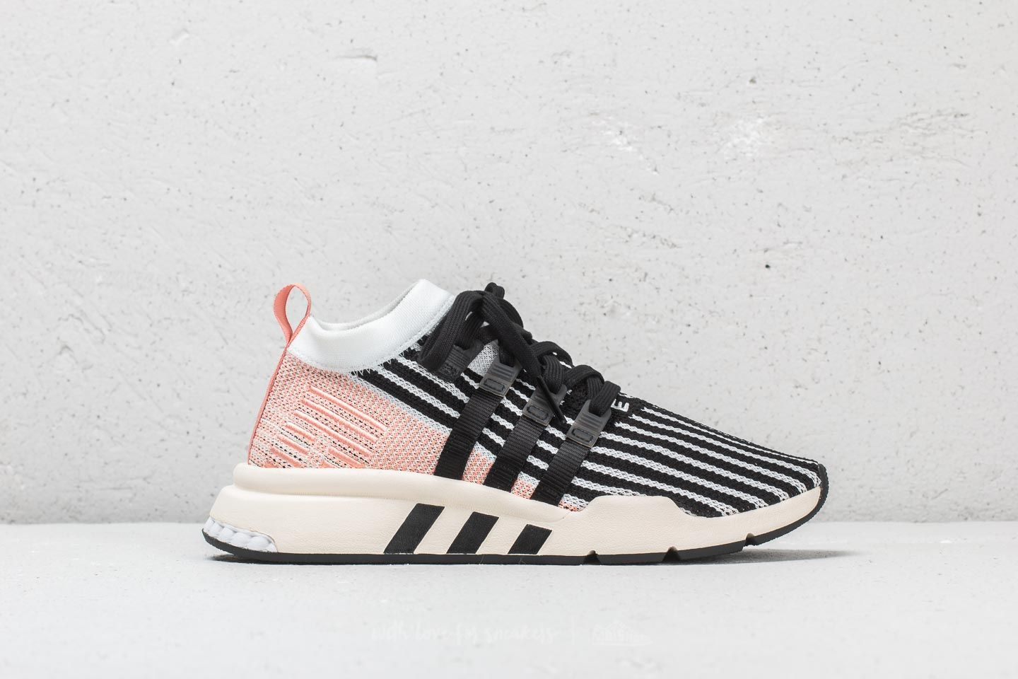 outlet store adc72 f9da9 Adidas EQT Support Mid ADV PK Cloud White Core Black Trace Pink at a