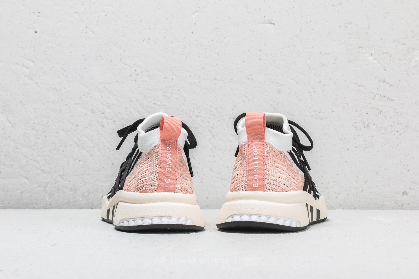 timeless design 451e4 47ee8 Adidas EQT Support Mid ADV PK Cloud White Core Black Trace Pink za skvělou
