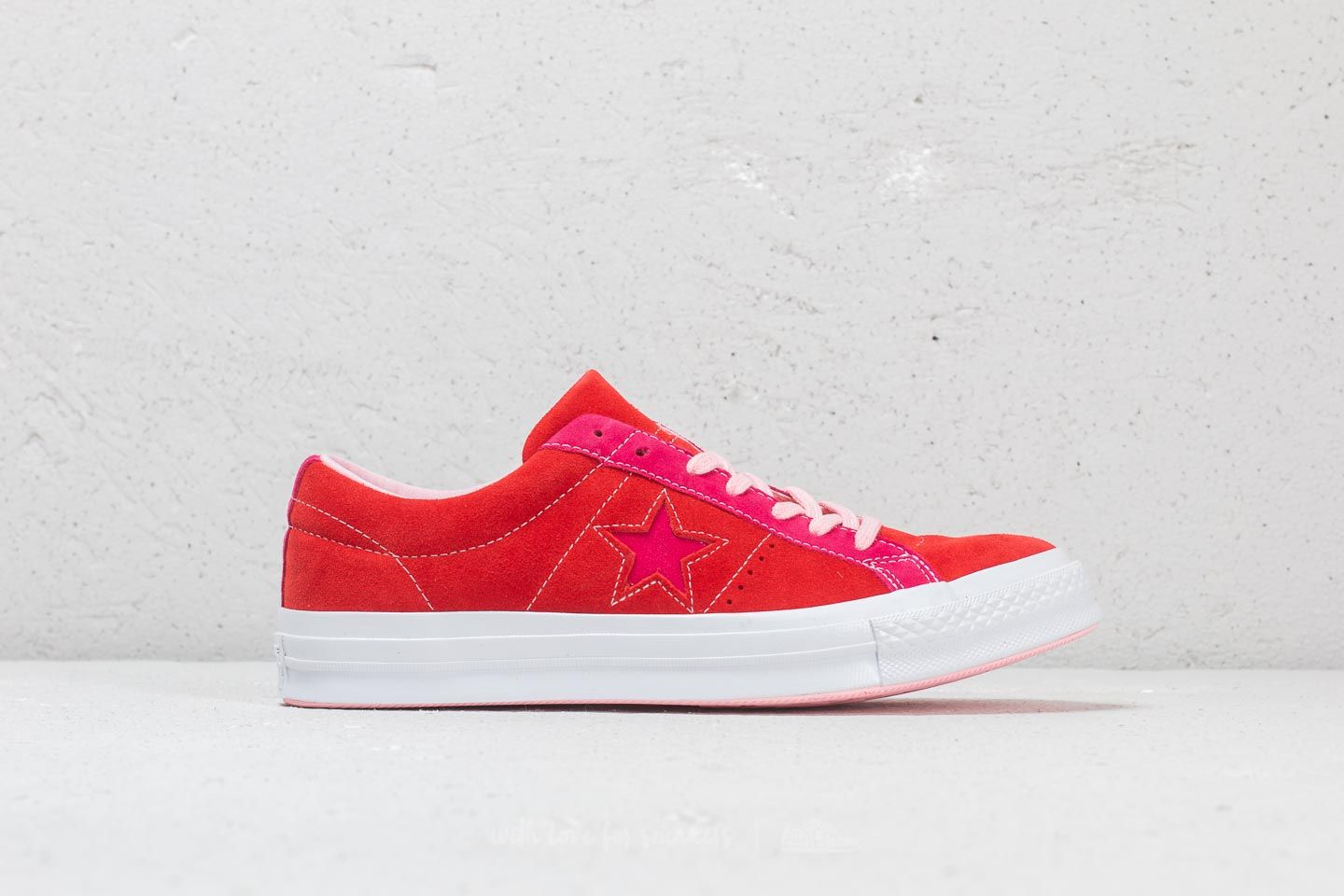 600ed9c60cd858 Converse One Star Ox Enamel Red  Pink Pop at a great price 88 € buy