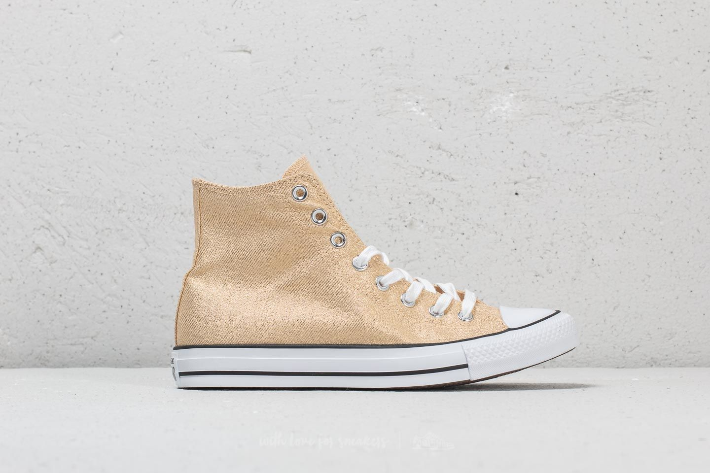 d5037f90564e Converse Chuck Taylor All Star Hi Light Twine  White  Black at a great price