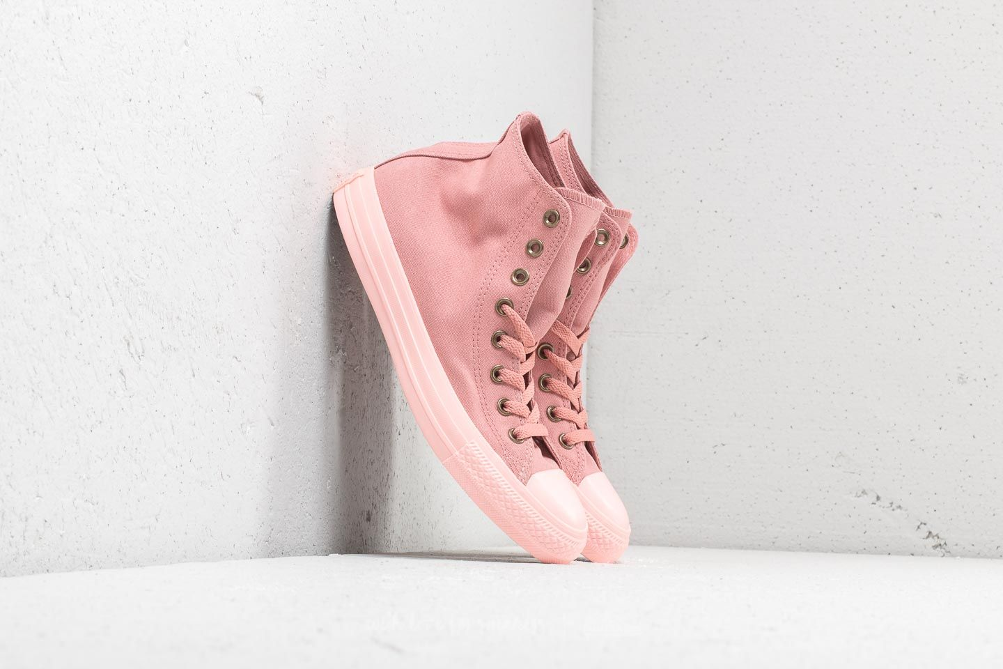 Converse Chuck Taylor All Star Hi Rust Pink  Rust Pink  Storm Pink at a 1fc725bf4271