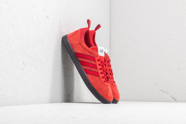 20ece978ae1e adidas x C.P. Company Street Brick  Red Nitro  Surreal Red