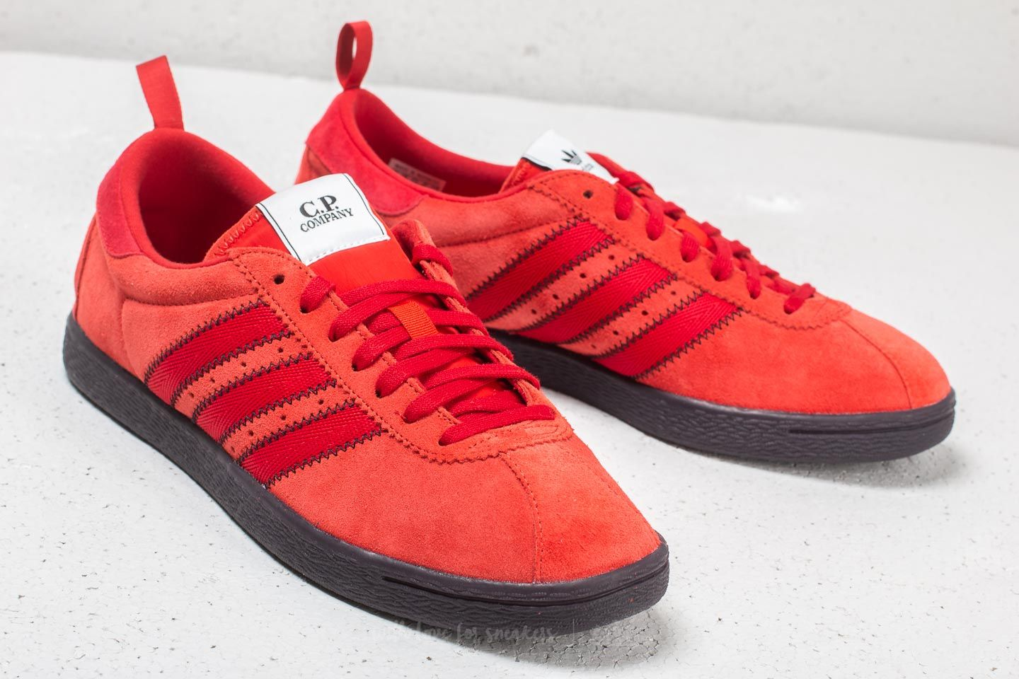 size 40 33afe 8e565 adidas x C.P. Company Street Brick/ Red Nitro/ Surreal Red ...