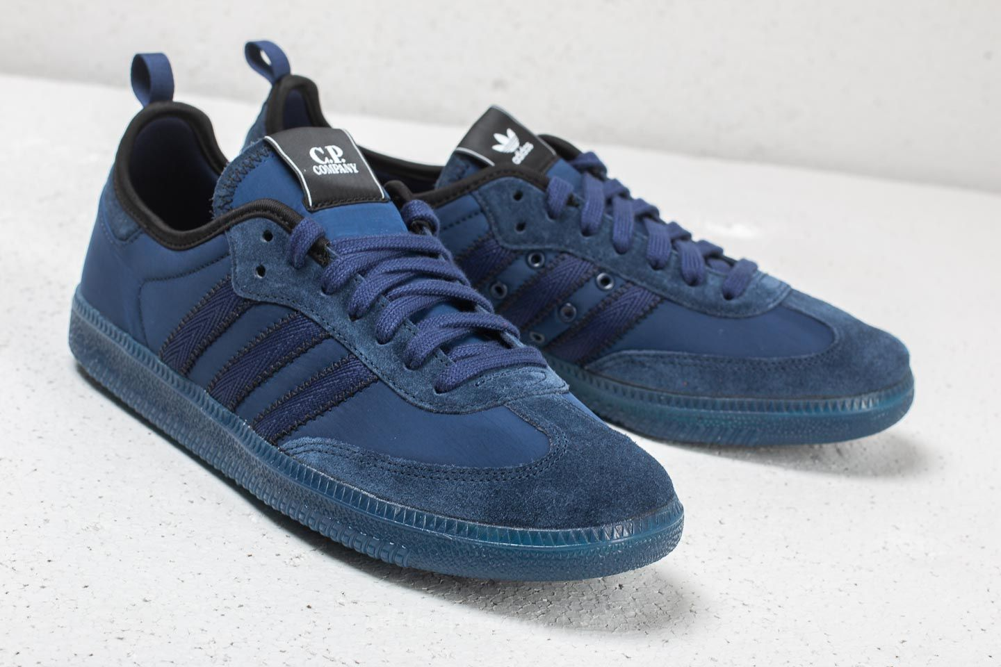 sports shoes 422ed dd5df adidas x C.P. Company Samba Dark Blue/ Night Sky/ Dark ...