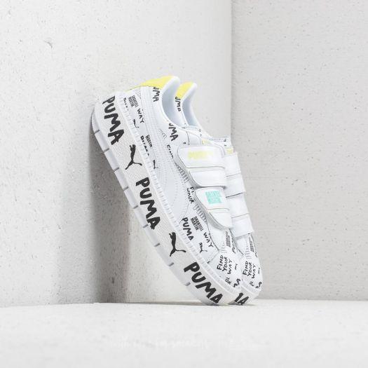 Puma x Shantell Martin Platform Trace Strap Puma White Puma White | Footshop