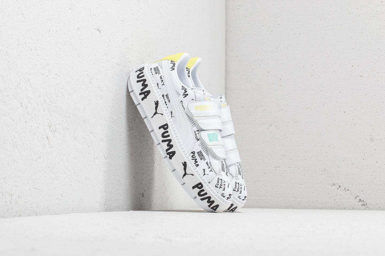 51407617f683 Puma x Shantell Martin Platform Trace Strap Puma White  Puma White ...