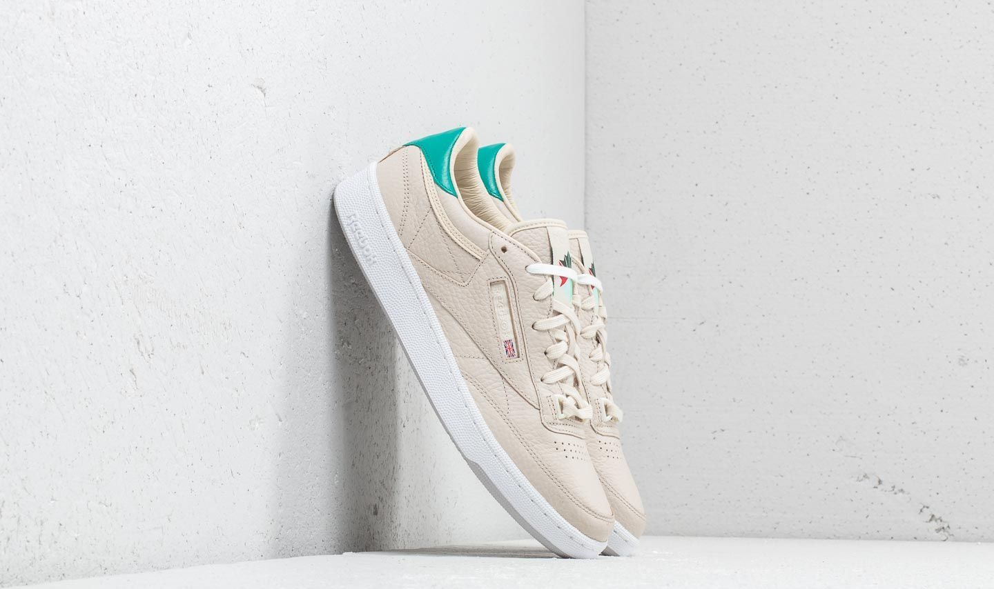 "Reebok x Packer Club C 85 ""Marcial"" Stucco/ Paper White/ Haze EUR 38.5"