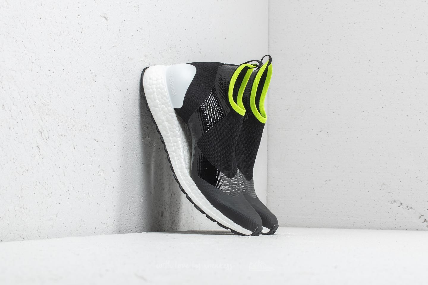 4a34cdd9bf76f adidas x Stella McCartney Ultraboost X All Terrain Core Black  Ftw White   Solar Slime