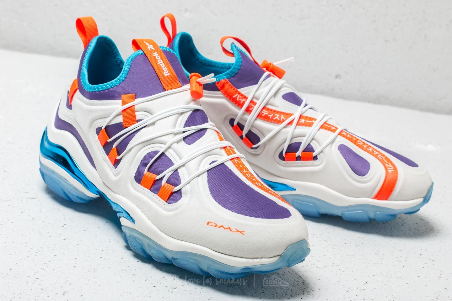 REEBOK x SWIZZ BEATZ DMX Series 2000 Low Chalk  White  Royal Orchid at a 37504596e085