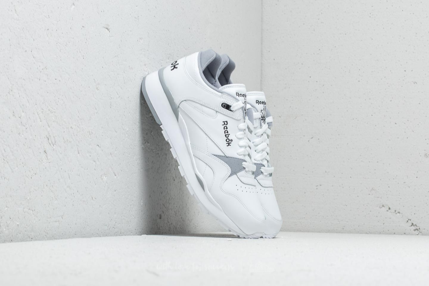 6066b61501d Reebok Classic Leather II White  Cool Shadow  Black at a great price 77 €