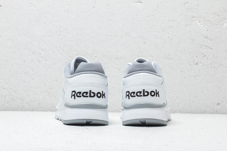 White Reebok Cool Shadow Leather Ii Classic BlackFootshop 3Rj4A5L