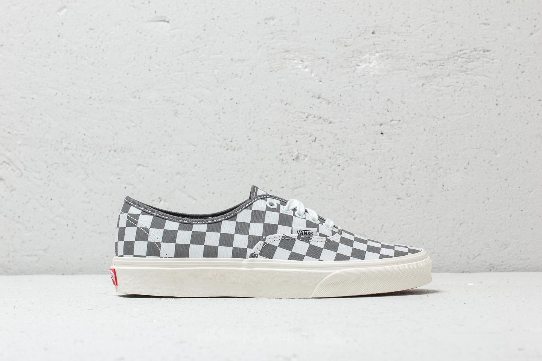 6d4eac318de Vans Authentic (Checkerboard) Pewter  Marshmallow au meilleur prix 54 €  Achetez sur Footshop