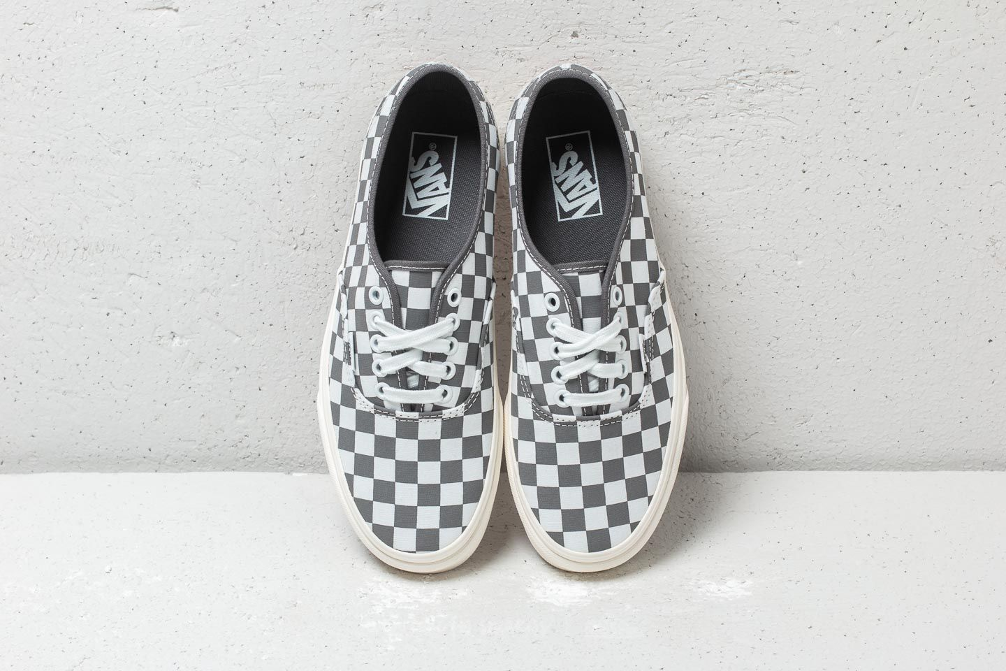 Vans Authentic (Checkerboard) Pewter  Marshmallow at a great price £36 buy  at fe1d71ad9