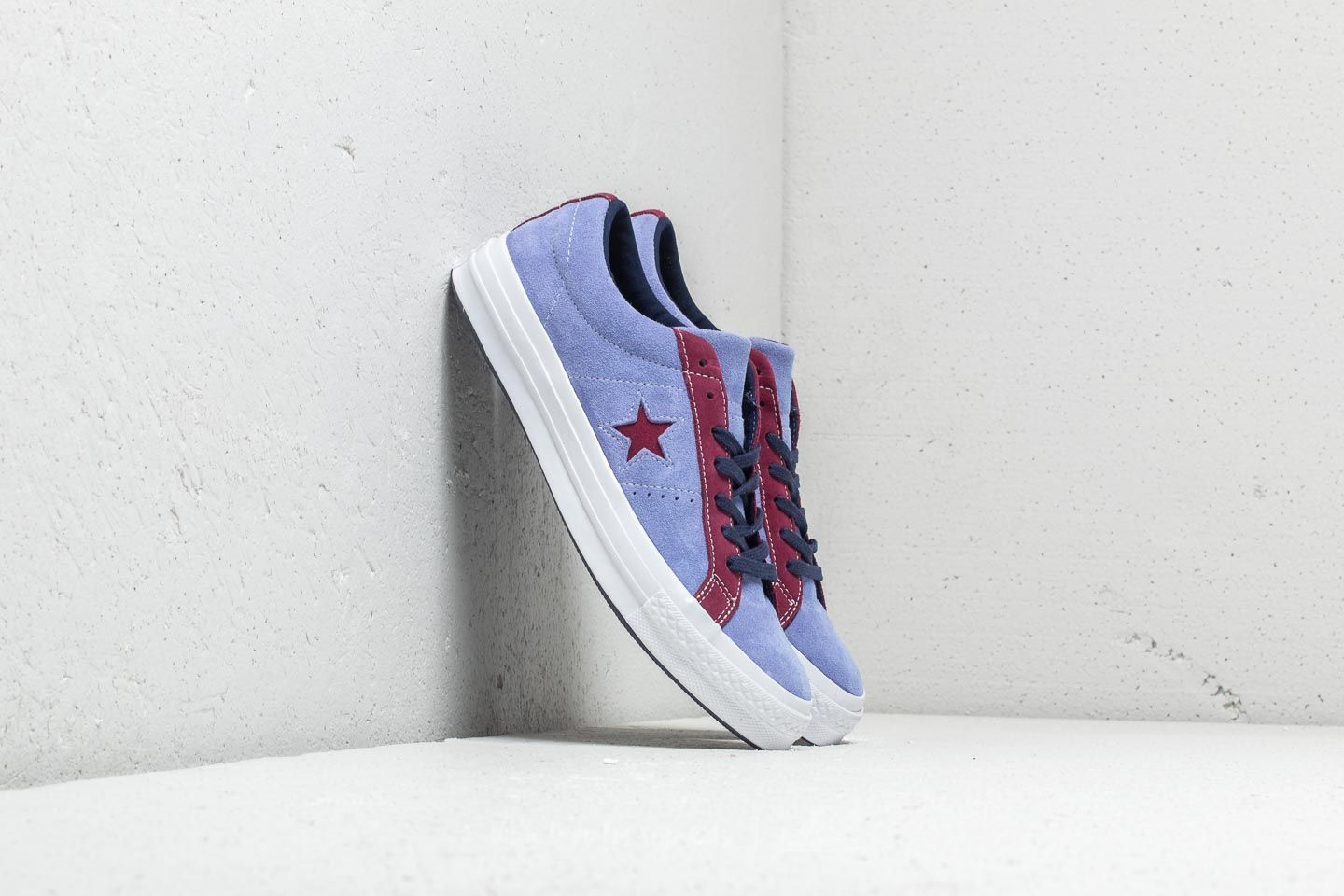 a7a081e53d09 Converse One Star Ox Deep Periwinkle  Rhododenron