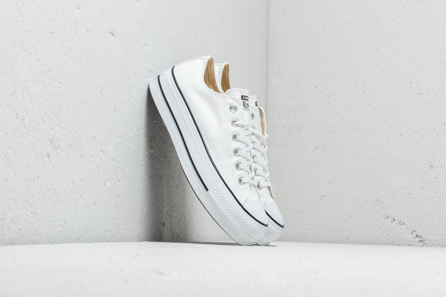 Γυναικεία παπούτσια Converse Chuck Taylor All Star Lift Ox White/ Black/ White
