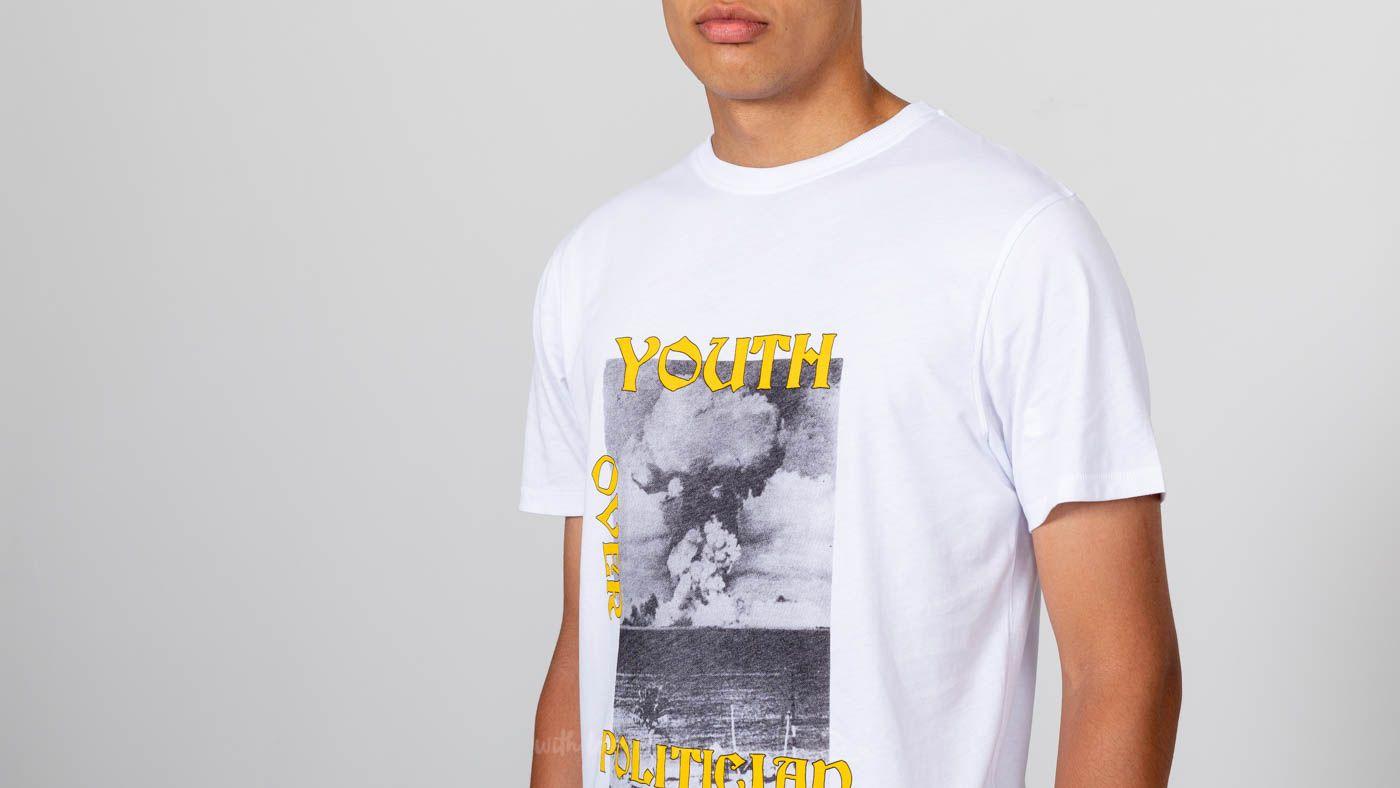 Soulland Murph Shortsleeve Tee White za skvělou cenu 460 Kč koupíte na Footshop.cz