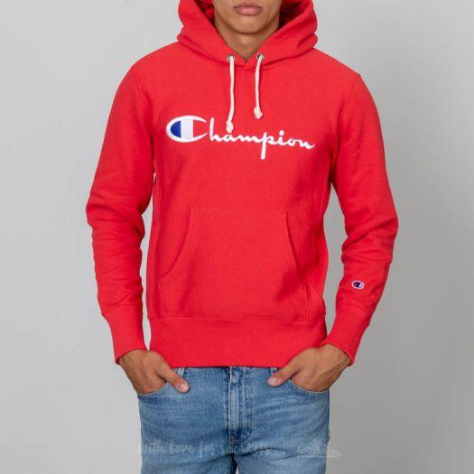 tulokas premium valinta kengät halvalla Champion Hoodie Red | Footshop