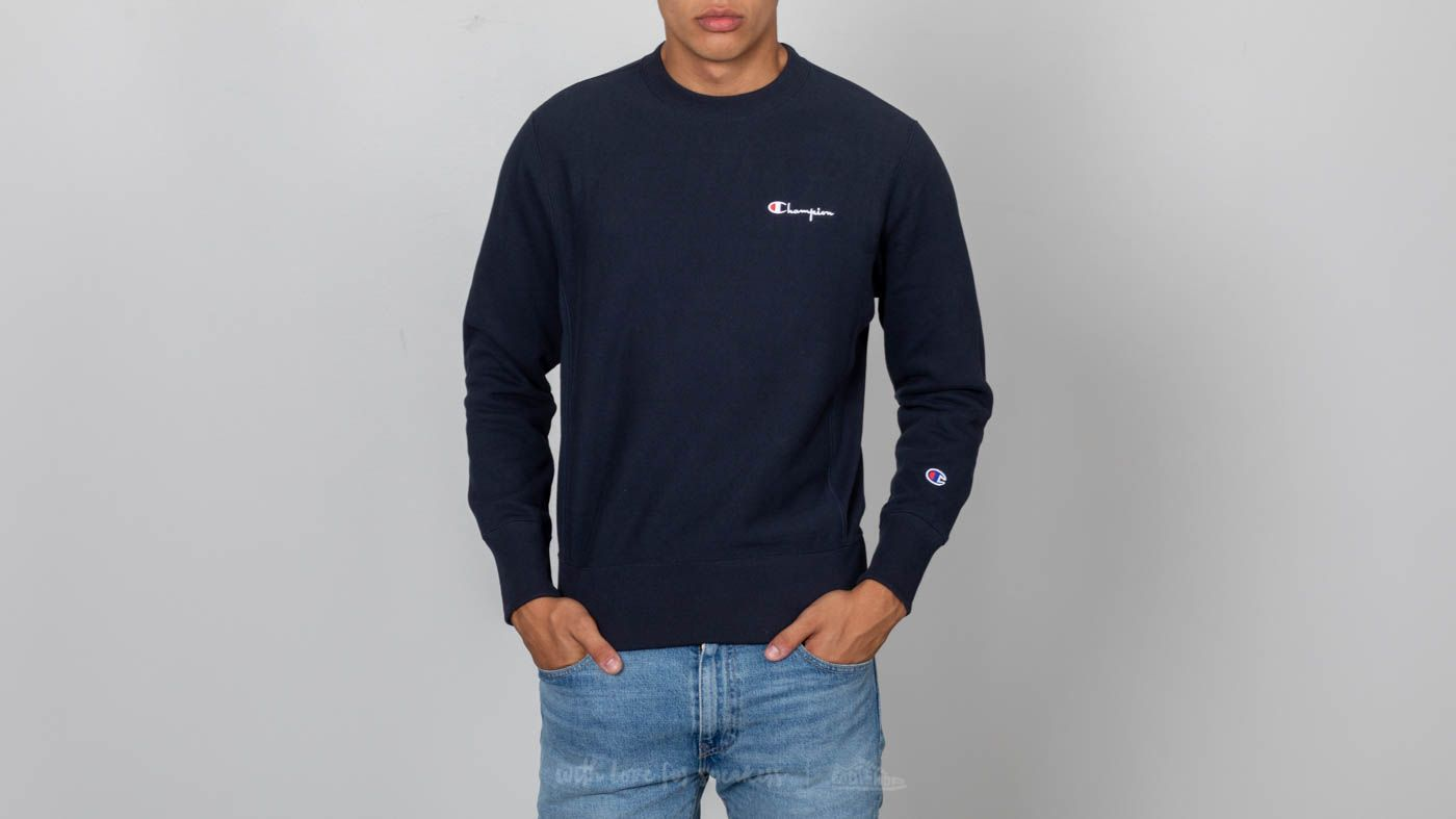 4f3d319b237a Champion Crewneck Sweatshirt Navy