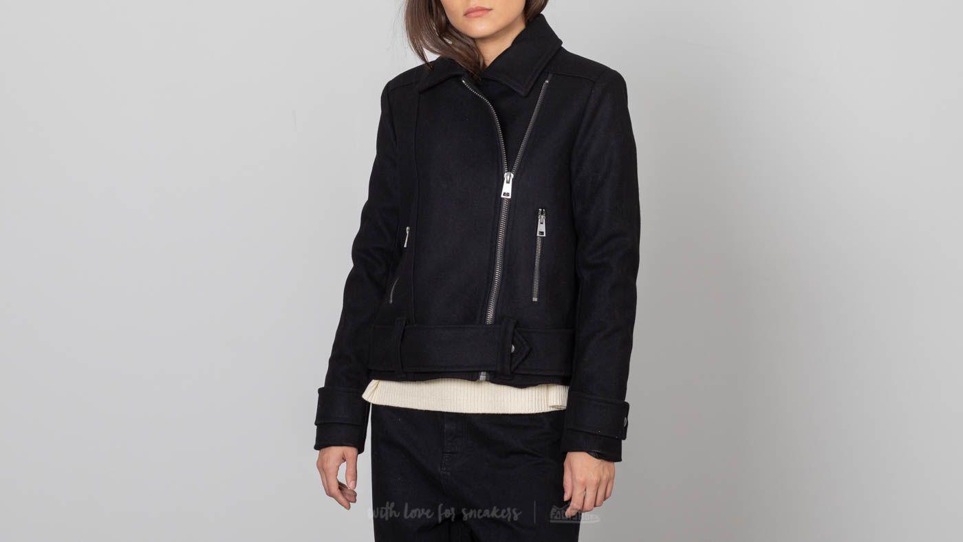 SELECTED Thea Short Biker Jacket Black za skvělou cenu 2 290 Kč koupíte na Footshop.cz