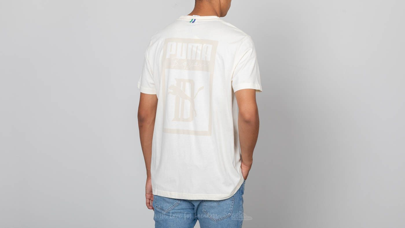 8408968851 Puma x Big Sean Logo Tee Whisper White | Footshop