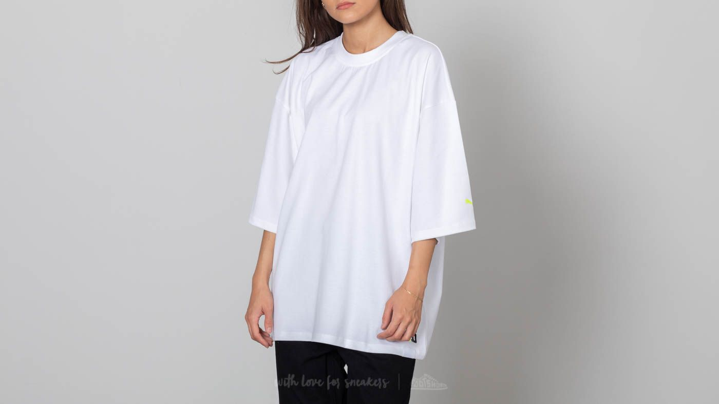 Puma Fenty x Rihanna SS Crew Neck T-Shirt Bright White