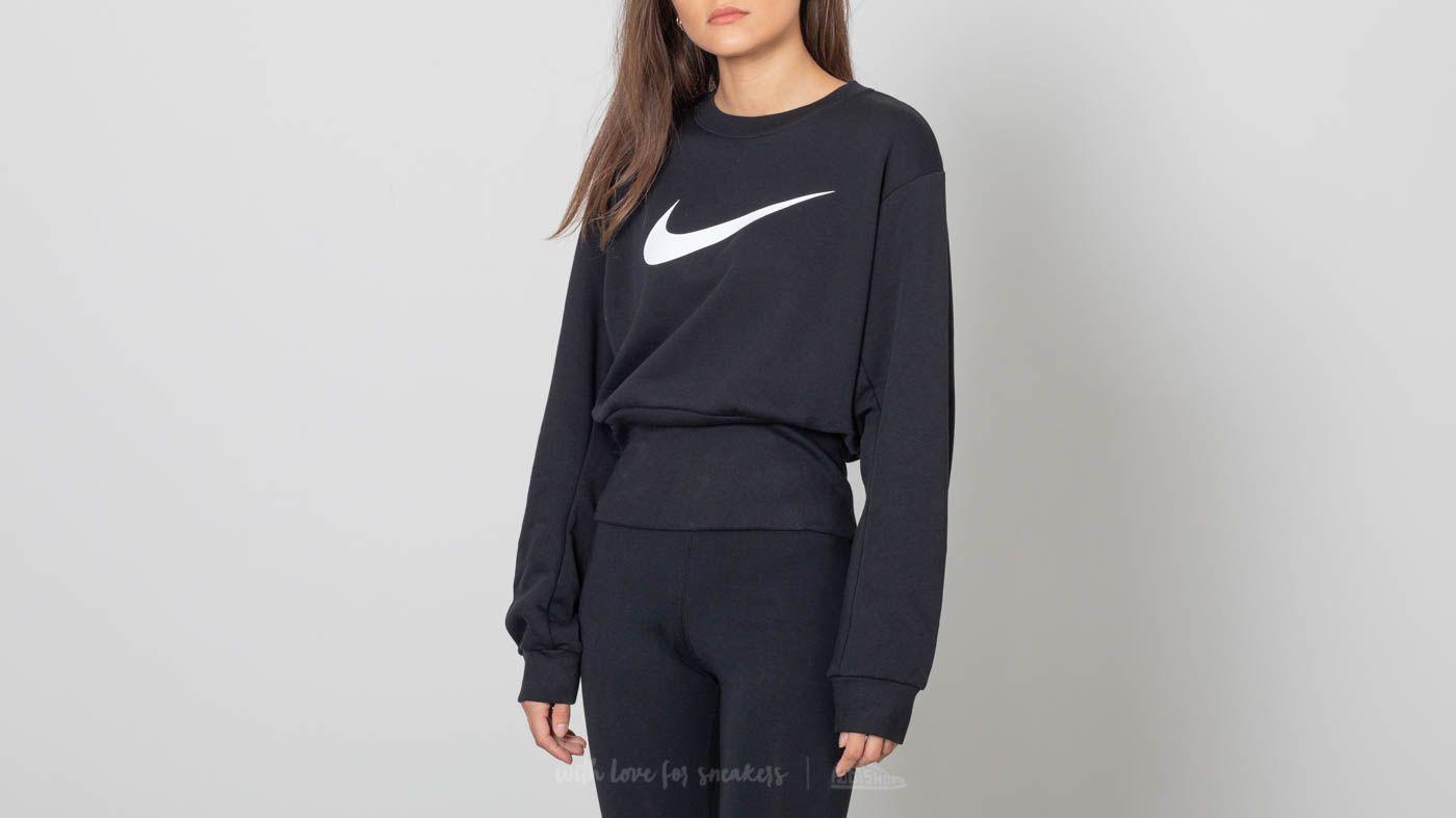 Nike Sportswear Swoosh Crewneck Black za skvělou cenu 1 390 Kč koupíte na Footshop.cz