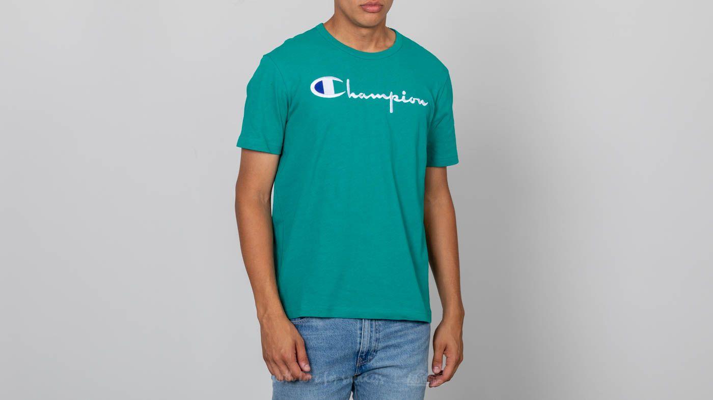 Champion Crewneck T-Shirt Vivid Teal