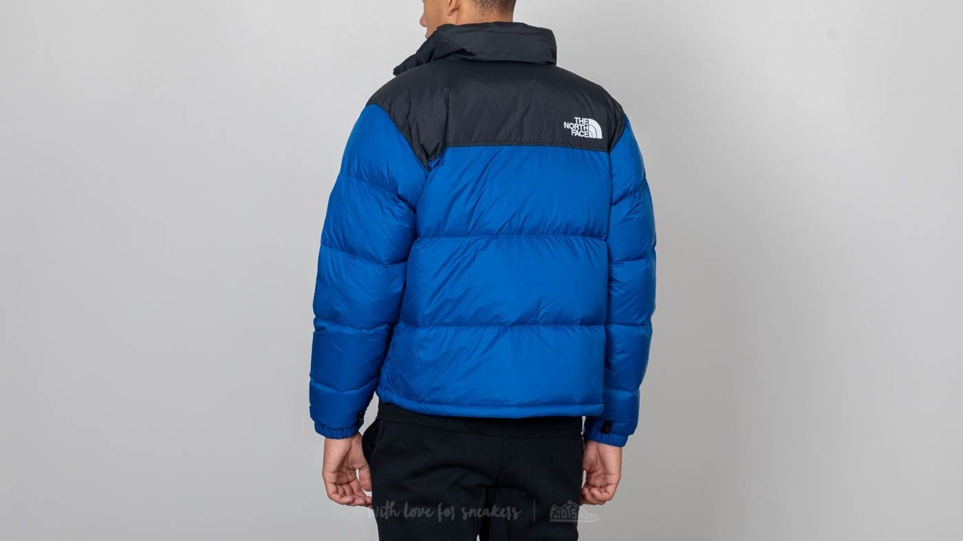 Dzsekik The North Face 1996 Retro Nuptse Jacket Aztec Blue