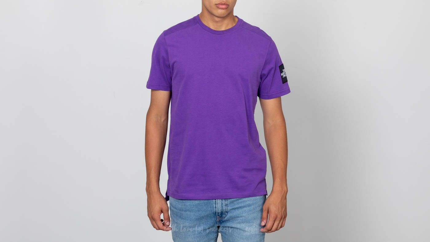 c4a84b46976f8e The North Face M Shortsleeve Fine 2 Tee Tillandsia Purple