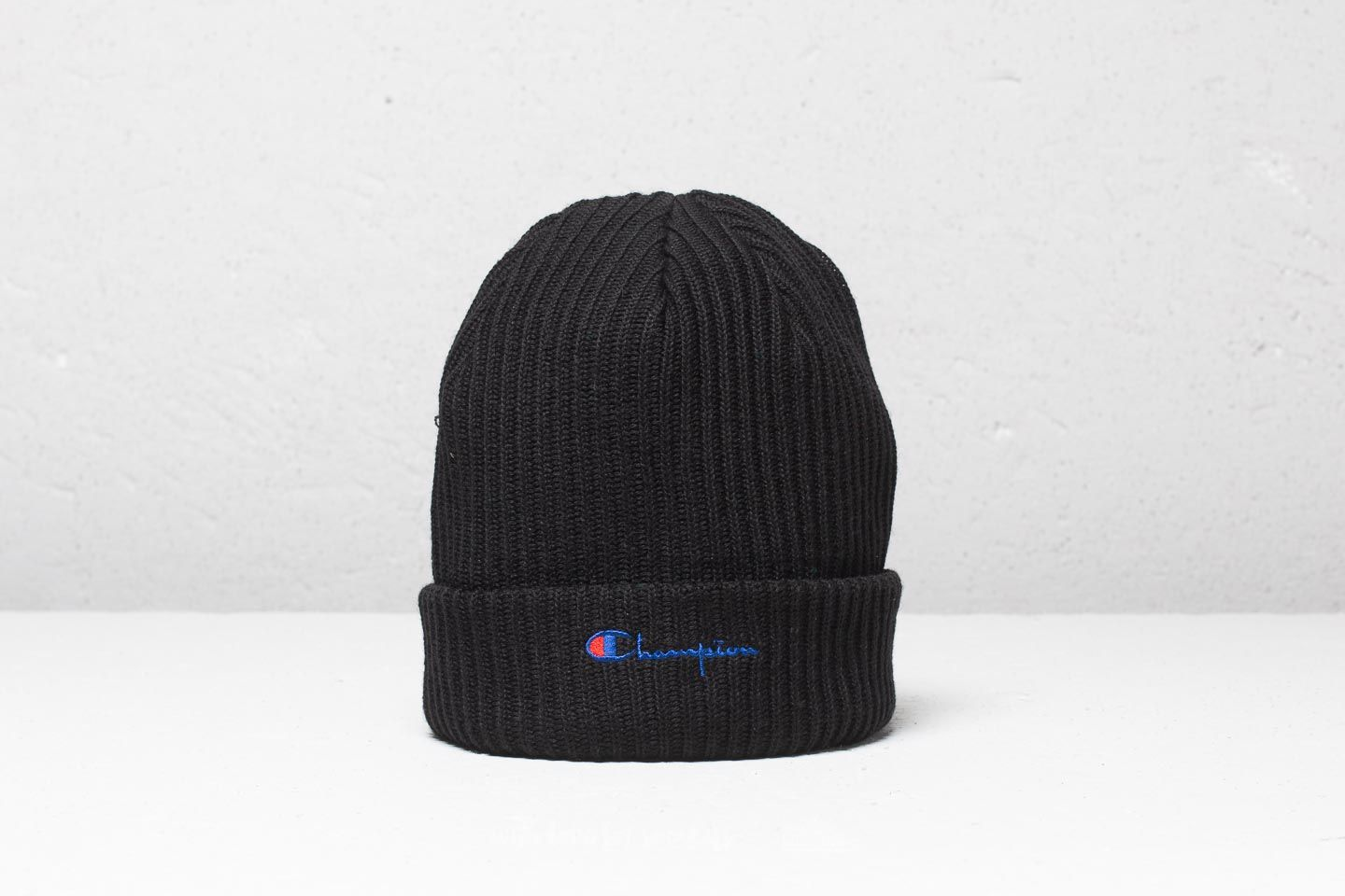 775c8f743c0 CHAMPION Beanie Black