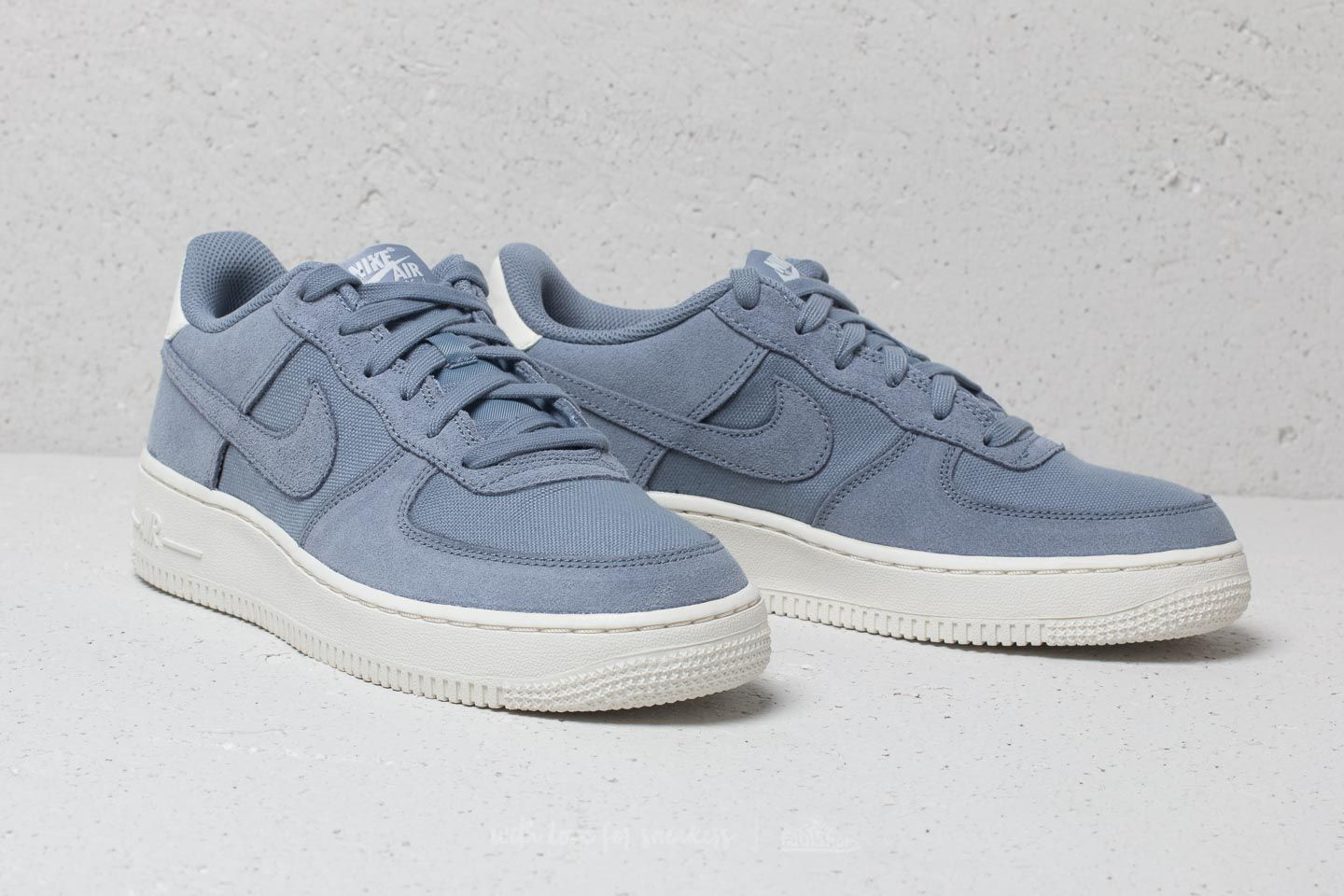 Nike Air Force 1 Suede (GS) Ashen Slate Ashen Slate Sail | Footshop