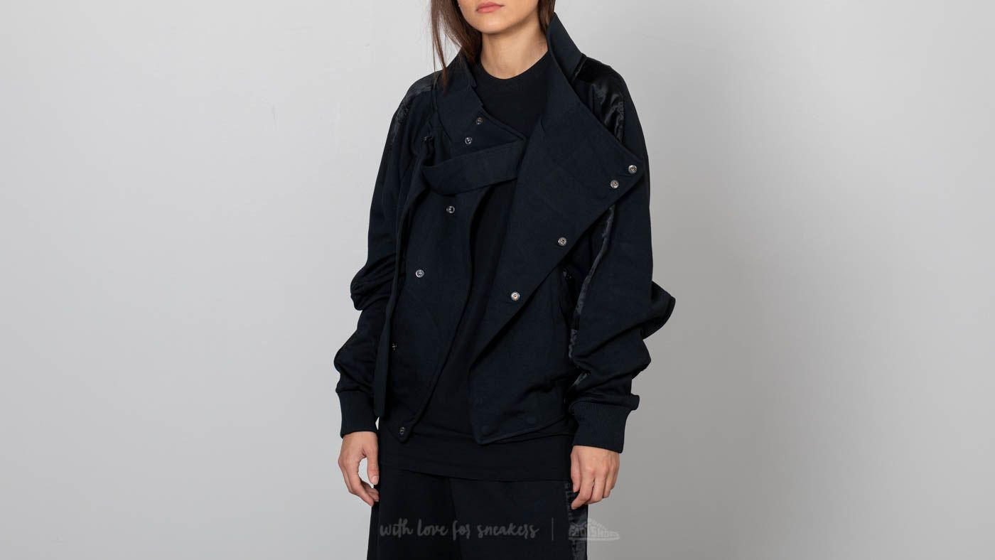 Mikiny a svetry Y-3 Matte Track Top Black