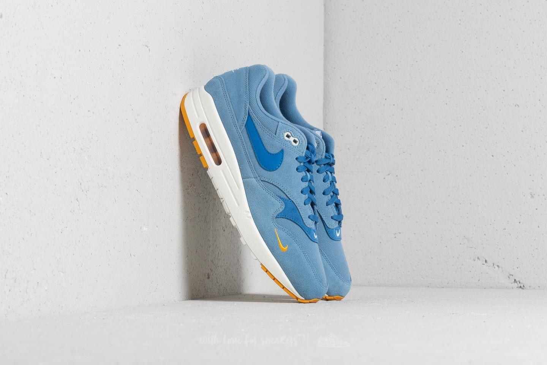 Nike Air Max 1 Premium Work Blue/ Mountain Blue