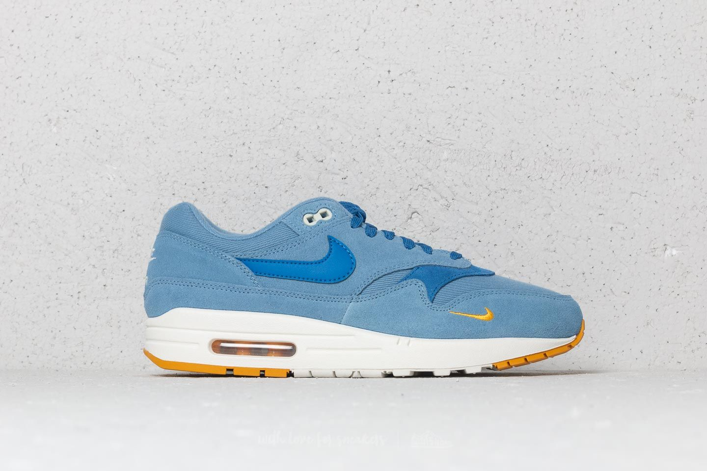 aa9ae991c3e4 Nike Air Max 1 Premium Work Blue  Mountain Blue at a great price £121