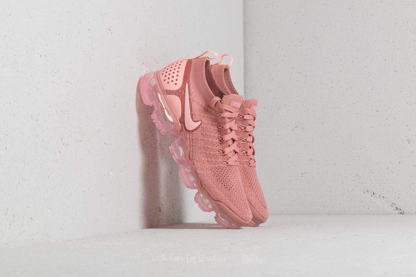 newest df394 3dc94 Nike Wmns Air Vapormax Flyknit 2. Rust Pink  ...