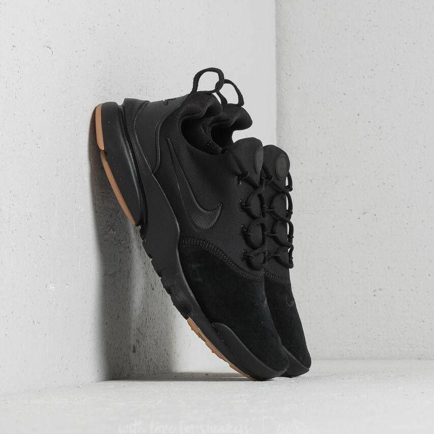 Nike Presto Fly Premium (GS) Black/ Black-Gum Light Brown EUR 36