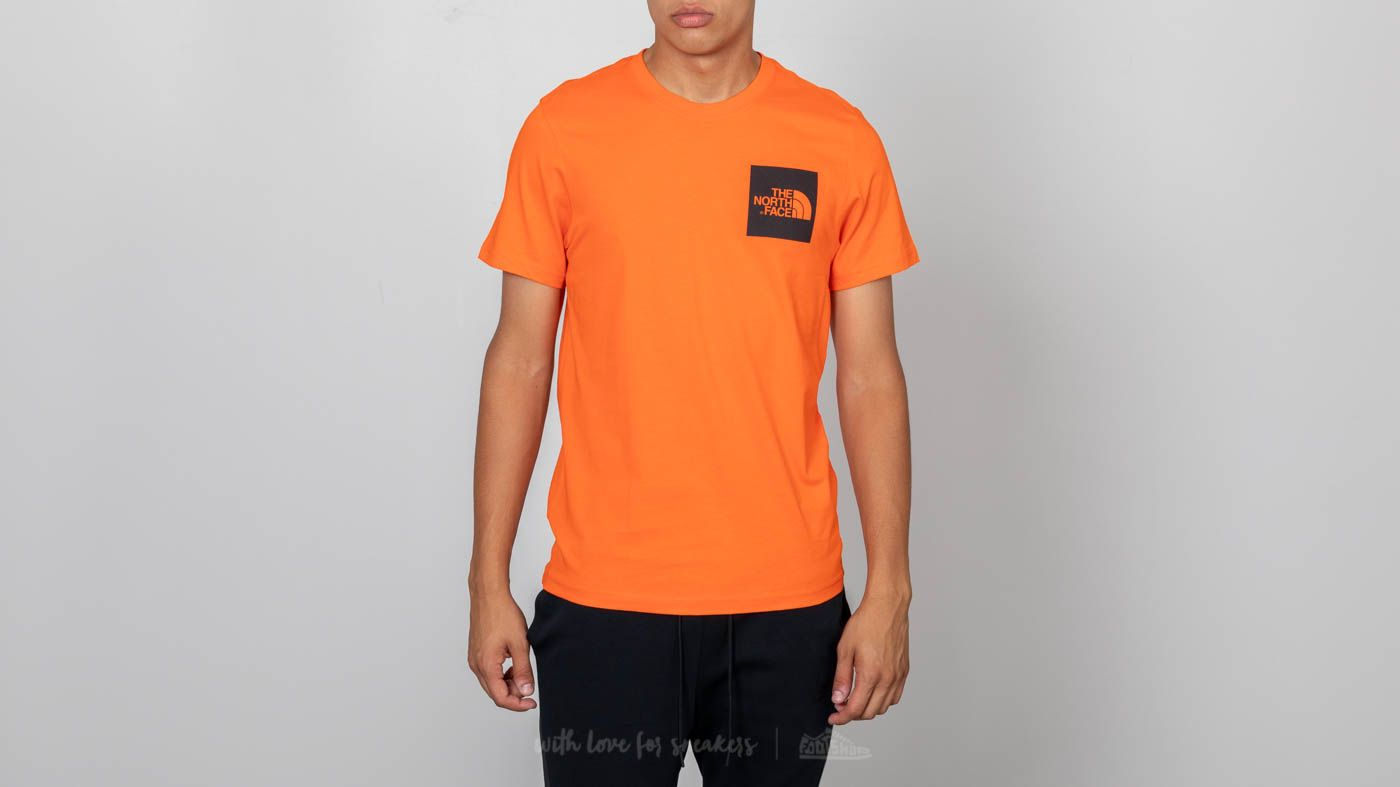 0a662c645 The North Face Shortsleeve Fine Tee Persian Orange | Footshop