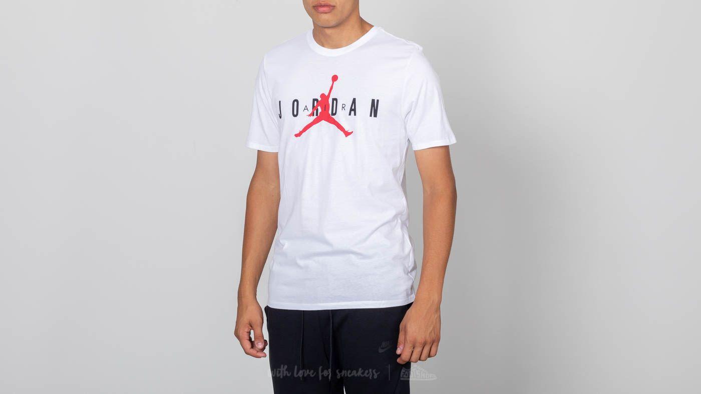 54bd0eaf08d0d3 The Jordan Sportswear Air Graphic Tee White
