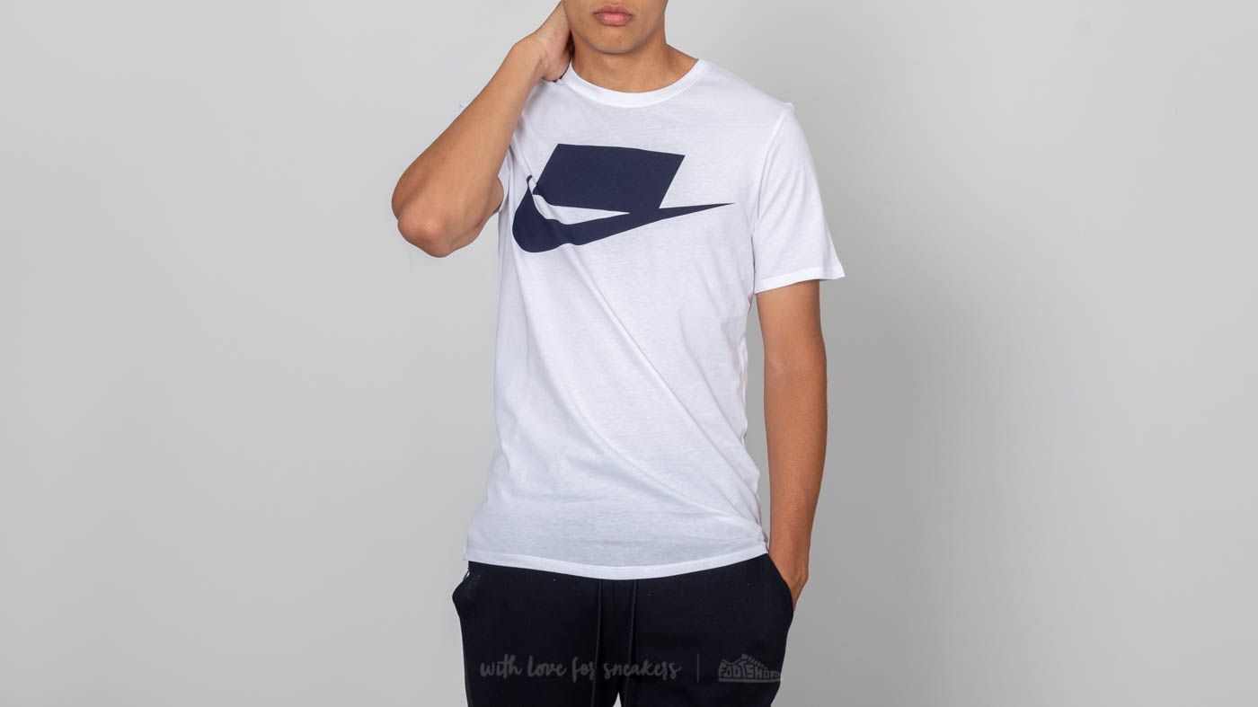 Nike Sportswear Innovation Tee White  Obsidian at a great price  25 buy at  Footshop 83e74f2b8