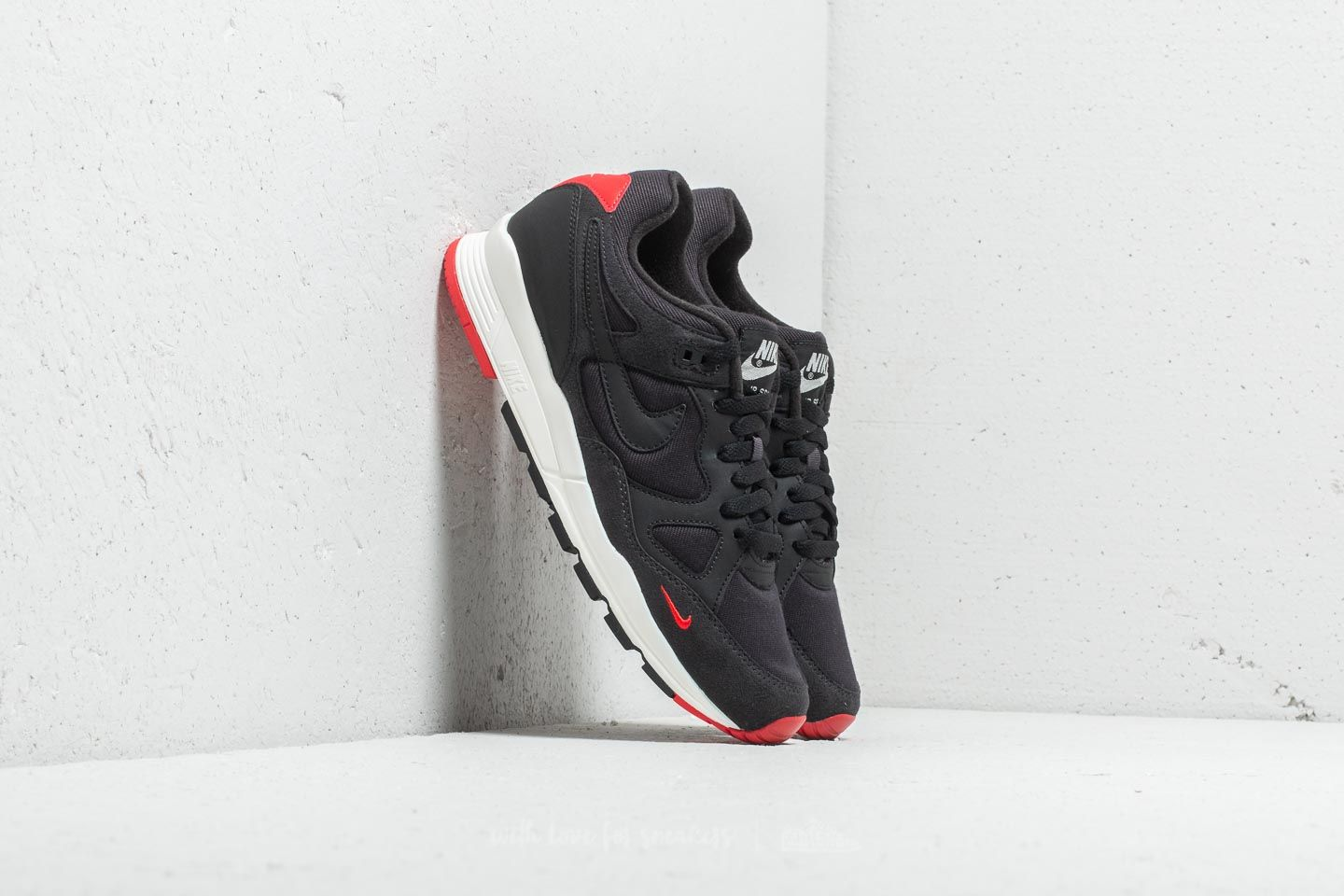 free shipping 51c0a da0fe Nike Air Span II SE Oil Grey/ Black-University Red at a great price