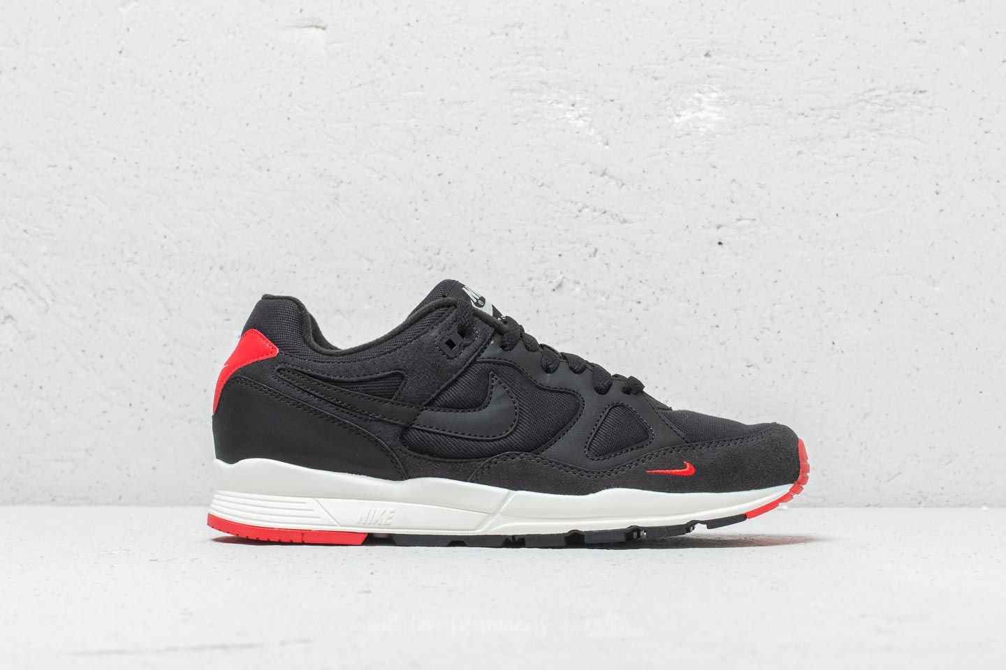 official photos a7027 40629 Nike Air Span II SE Oil Grey  Black-University Red at a great price
