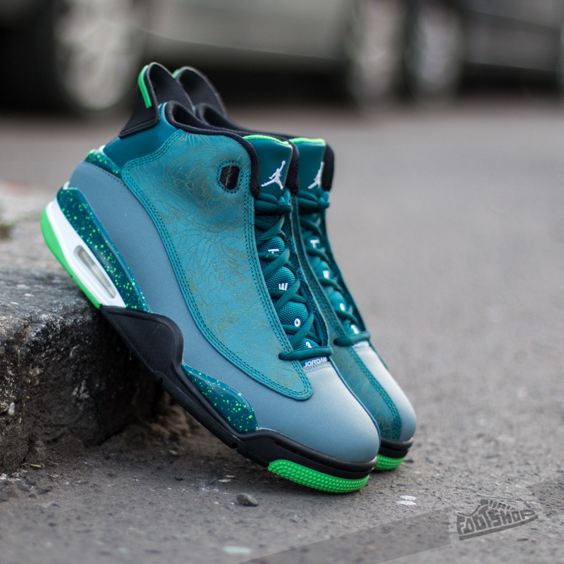 0d45ca5d8e5365 Air Jordan Dub Zero Teal Light Green Spark-Blue Graphite-Black ...
